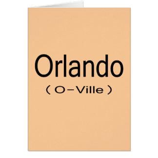 Orlando (O-Ville) Card