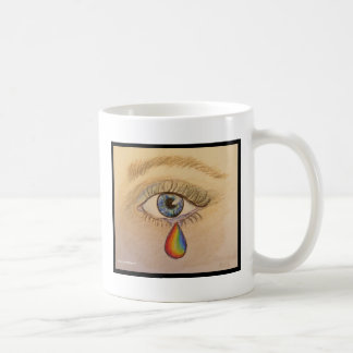 Orlando Rainbow Teardrop by Carol Zeock Coffee Mug
