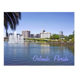 Orlando reflections on Lake Lucerne Postcard