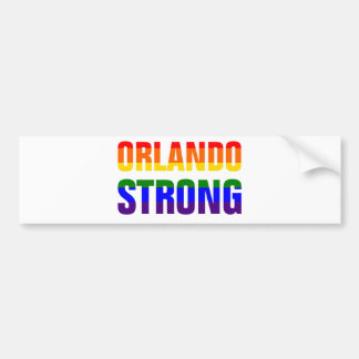 Orlando Strong Bumper Sticker