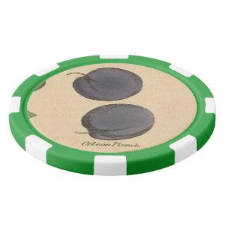Orlean Plum Poker Chips