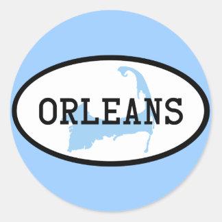Orleans, MA Cape Cod Sticker