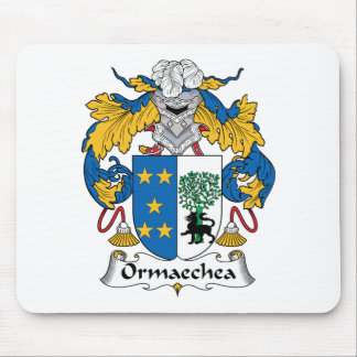 Ormaechea Family Crest Mouse Pads