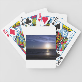 Ormond Beach Sunrise Bicycle Playing Cards