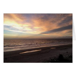 Ormond Beach Sunrise Card