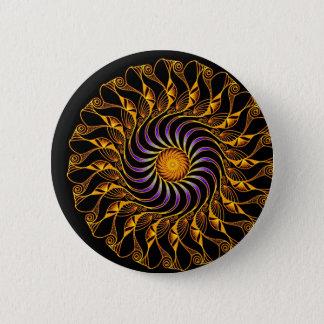ornament 2 inch round button