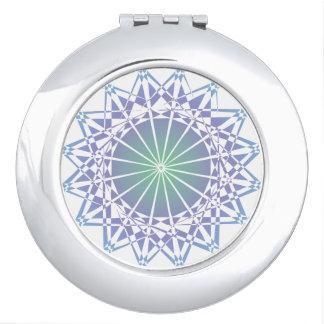 Ornament 9 compact mirrors