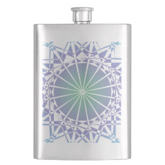 Ornament 9 hip flask