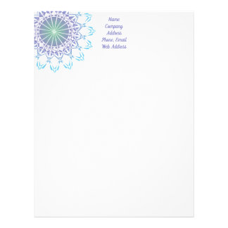 Ornament 9 letterhead