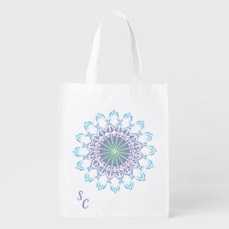 Ornament 9 reusable grocery bag