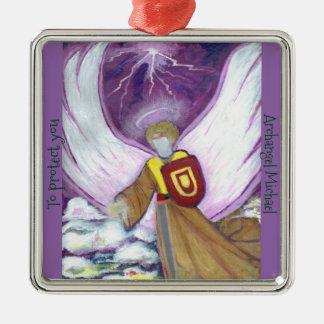 Ornament: Archangel Michael Metal Ornament