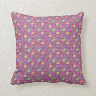 Ornament Argyle Throw Pillow