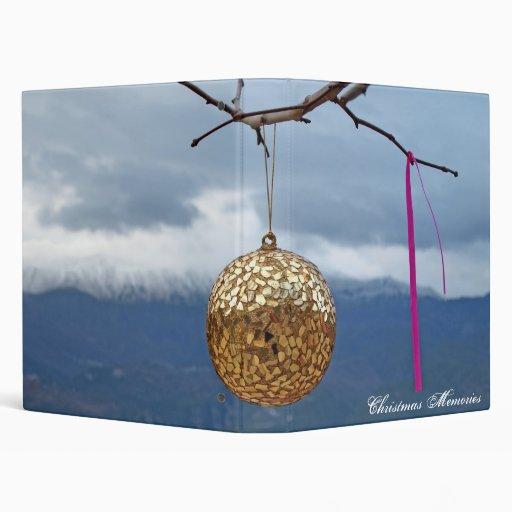 ornament 3 ring binder