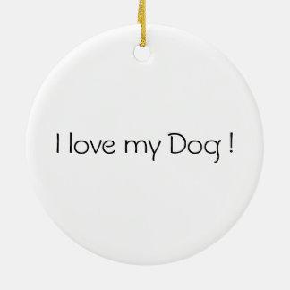 Ornament Black Dog