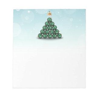 Ornament Christmas Tree - Notepad
