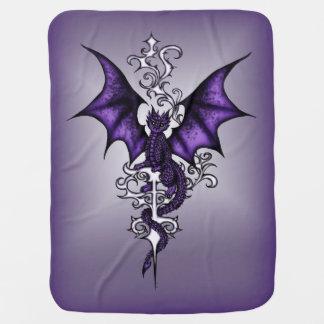 Ornament Dragon Baby Blanket