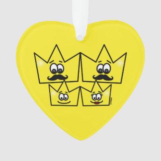 Ornament Heart - Gay Family Men
