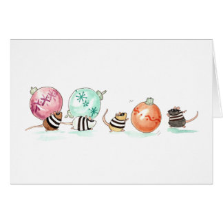 Ornament Heist Greeting Card