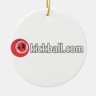 Ornament - Kickball.com Wordmark