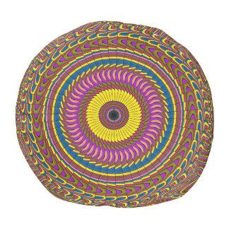 Ornament Mandala Pouf