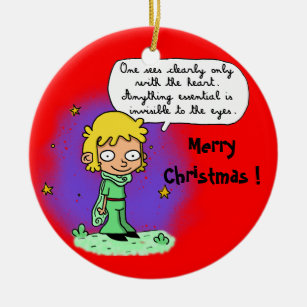 """ornament """"Merry Christmas"""" """"the little Prince"""""""