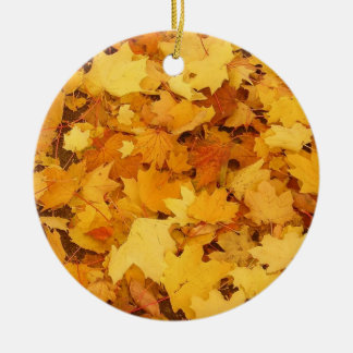 Ornament of Autumn Leaves