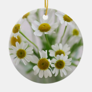 Ornament of small white flower