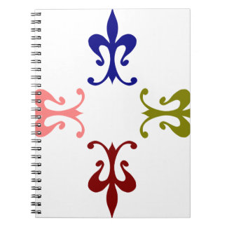 Ornament Spiral Notebooks