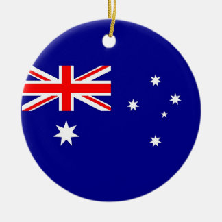 Ornament with flag of Australia