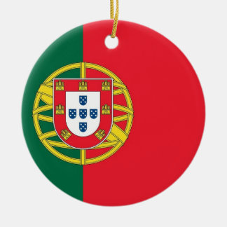 Ornament with flag of Portugal