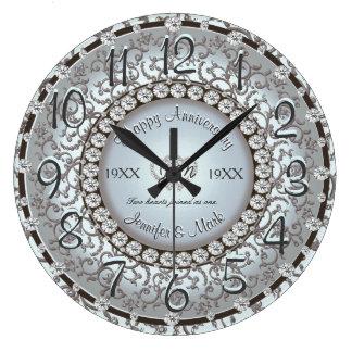 Ornamental Anniversary Clock