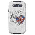 Ornamental British Flag Samsung Galaxy SIII Covers