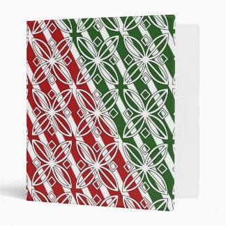 Ornamental Christmas Binder