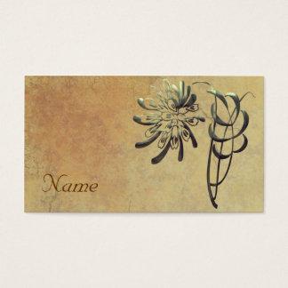 Ornamental Chrysanthemum Business Card