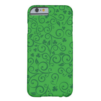 Ornamental floral clovers pattern barely there iPhone 6 case
