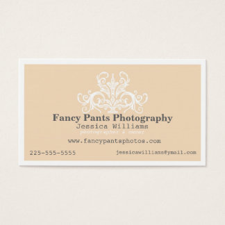 Ornamental Photography Business Card