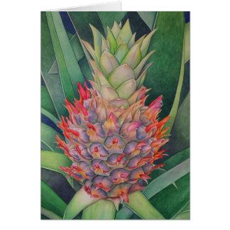 Ornamental Pineapple Card