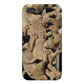 Ornamental plaque depicting a wild boar covers for iPhone 4