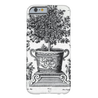 Ornamental tree in an urn on a small stage (engrav barely there iPhone 6 case