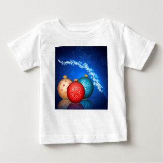 Ornamental Xmas Balls 2 Baby T-Shirt