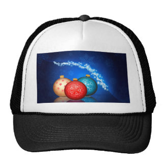 Ornamental Xmas Balls 2 Trucker Hat