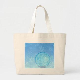 Ornamental Xmas Balls 3 Large Tote Bag