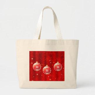 Ornamental Xmas Balls 4 Large Tote Bag