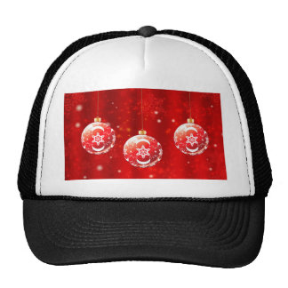 Ornamental Xmas Balls 4 Trucker Hat