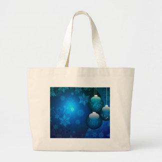 Ornamental Xmas Balls 5 Large Tote Bag