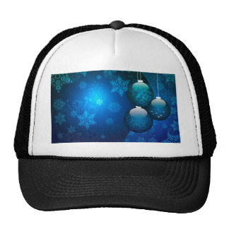 Ornamental Xmas Balls 5 Trucker Hat