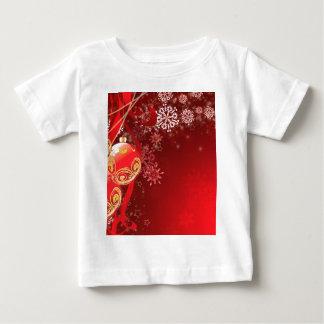 Ornamental Xmas Balls 6 Baby T-Shirt