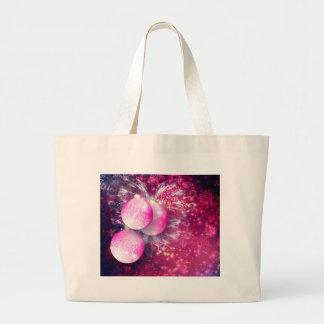 Ornamental Xmas Balls Large Tote Bag