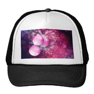 Ornamental Xmas Balls Trucker Hat