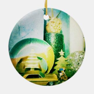 Ornamentalist Round Ceramic Ornament